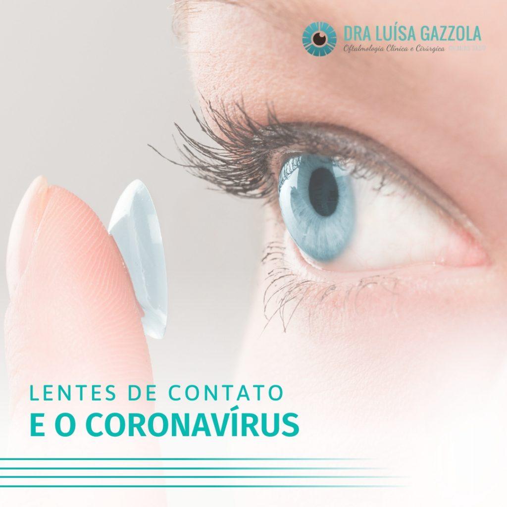 lentes de contato corona